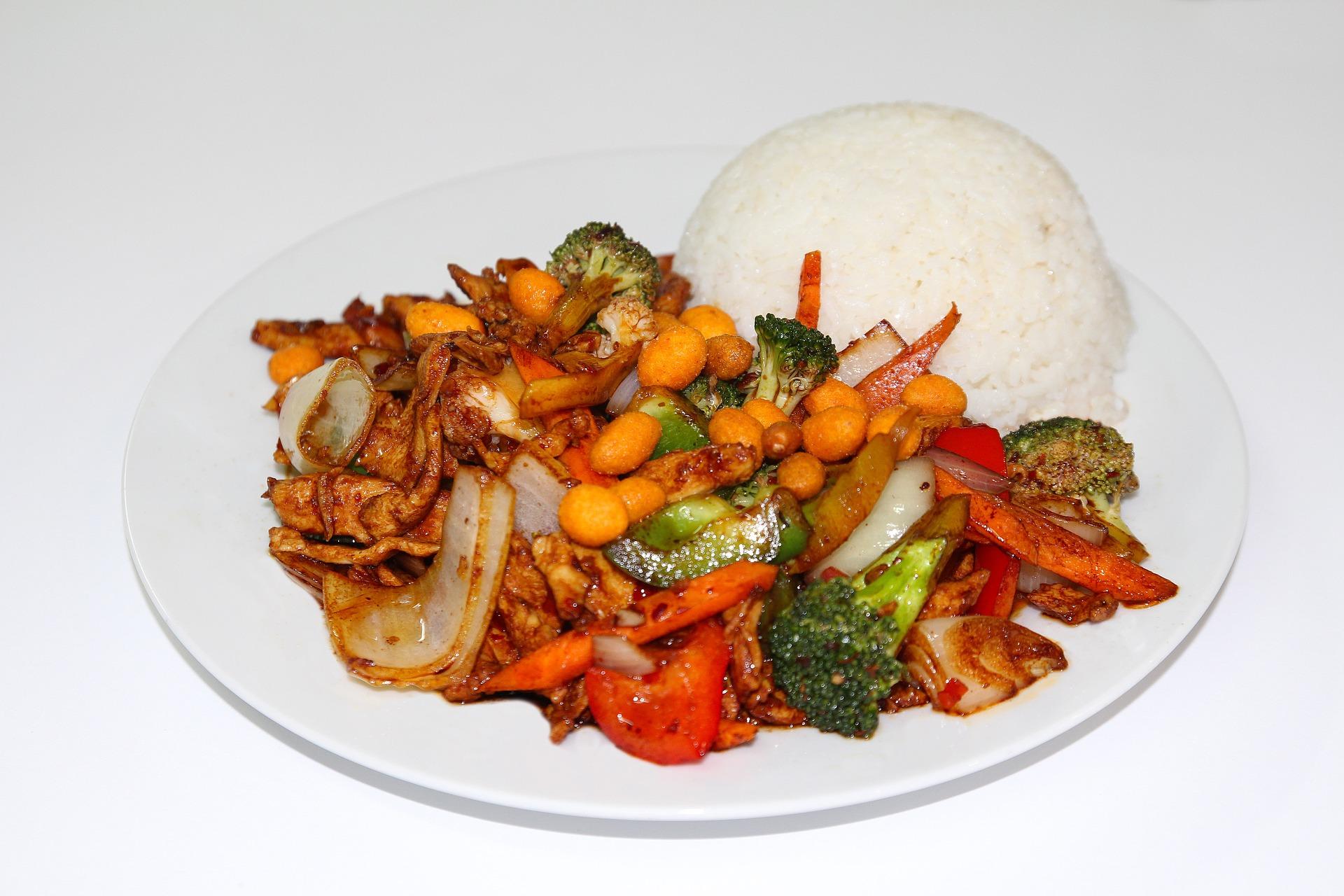 kurczak z woka z warzywami